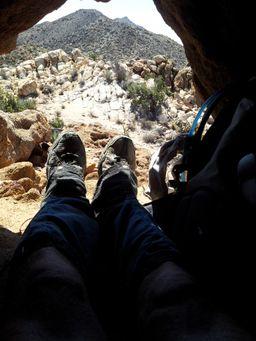 Cave Break in Sight of Jacumba Mtn