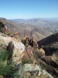 Drop off Monument Peak